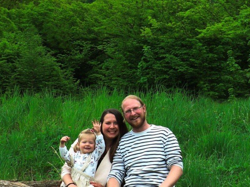 Michal s rodinou